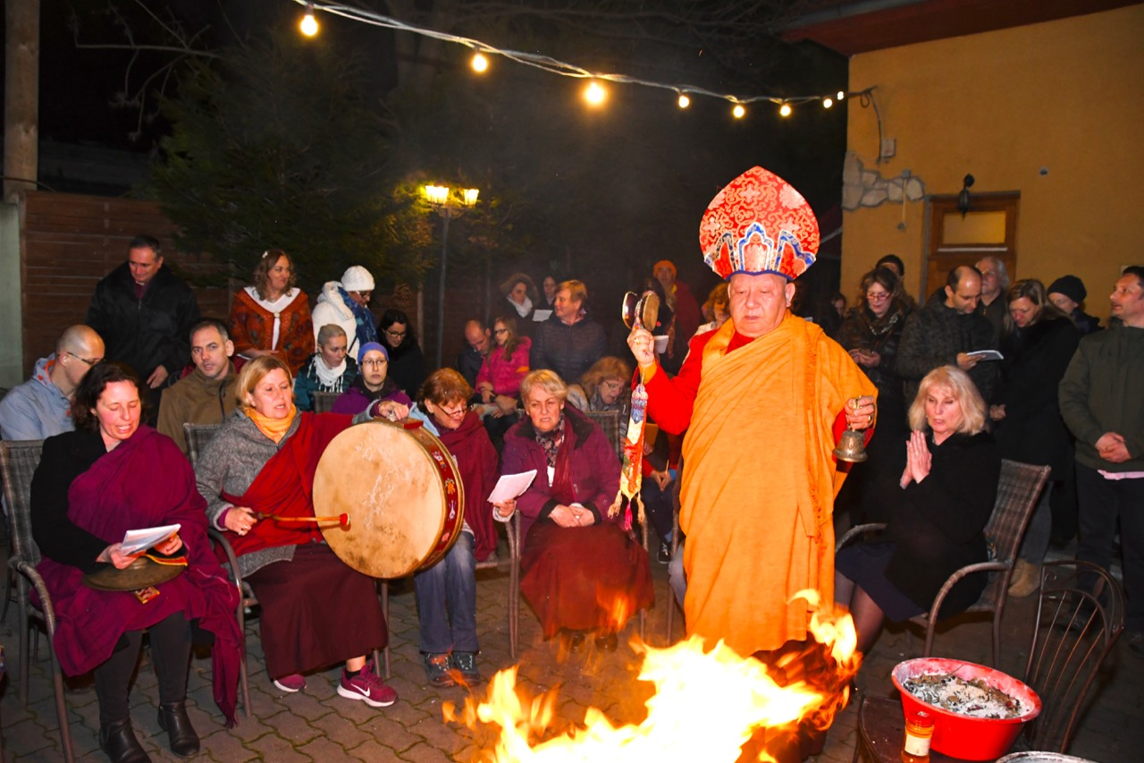 1 Rolle mantra Gebet Tibetische Schutz von chenrezi 14