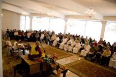 Conferinta Maestrului Tanpai in Bucuresti mai 2001